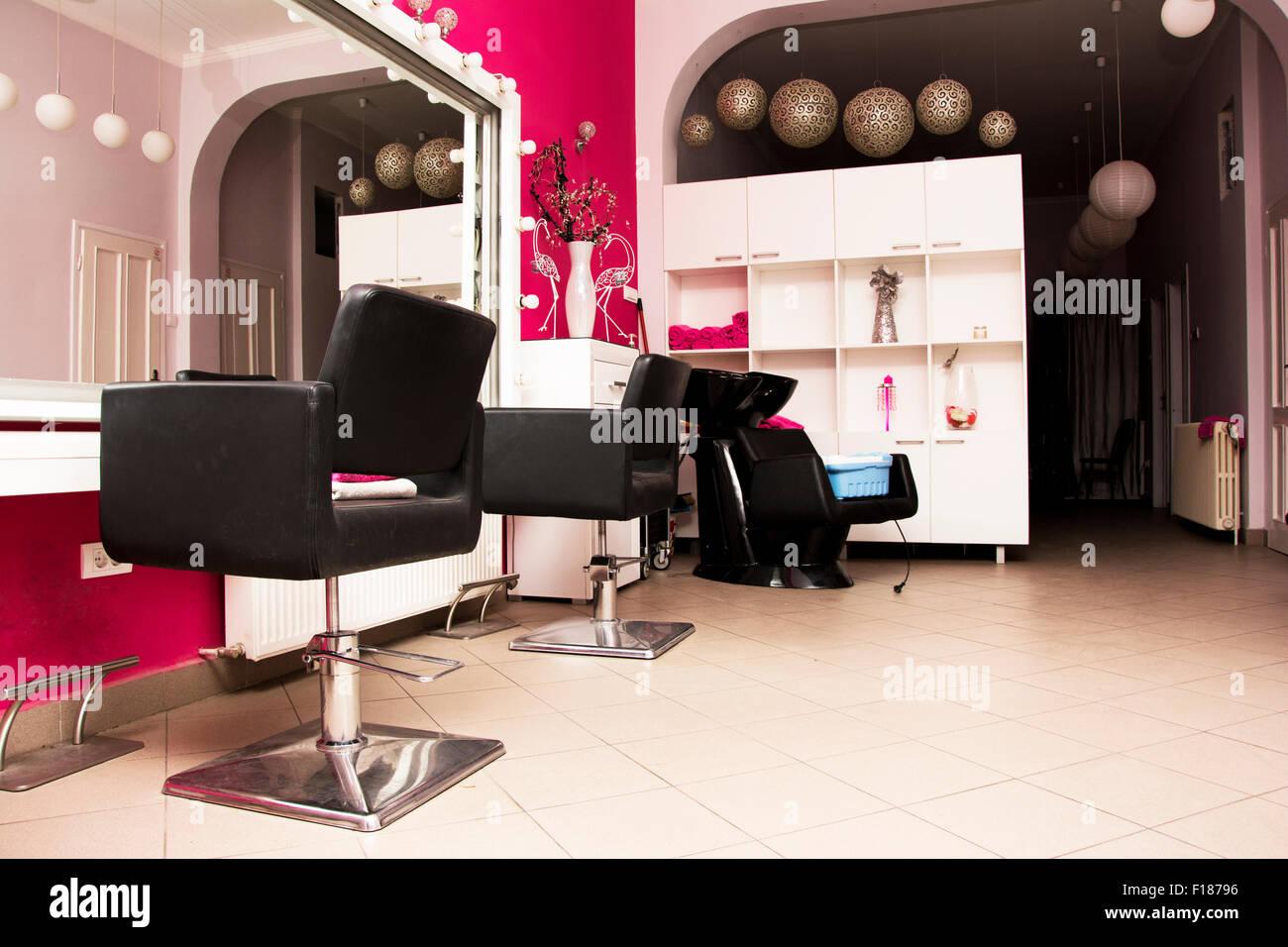 Women Hair Salon Interior Stock Photos Women Hair Salon Interior