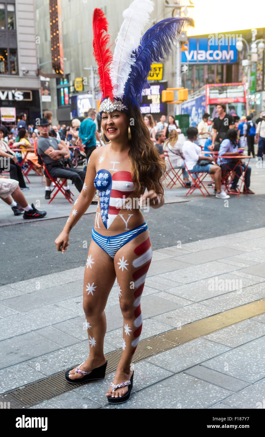 Live Body Painting In New York City