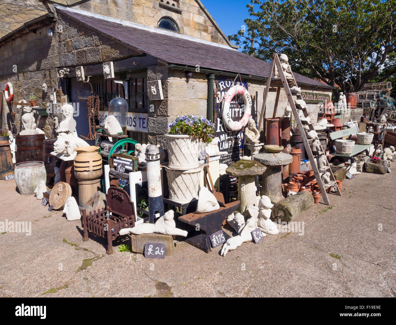 garden statues ornaments and stone troughs for sale in an antique