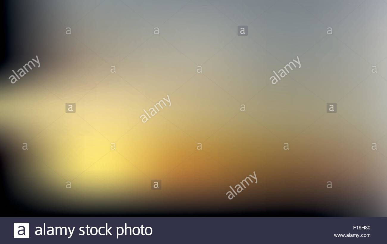 02 Blurred background, sunset - Stock Vector