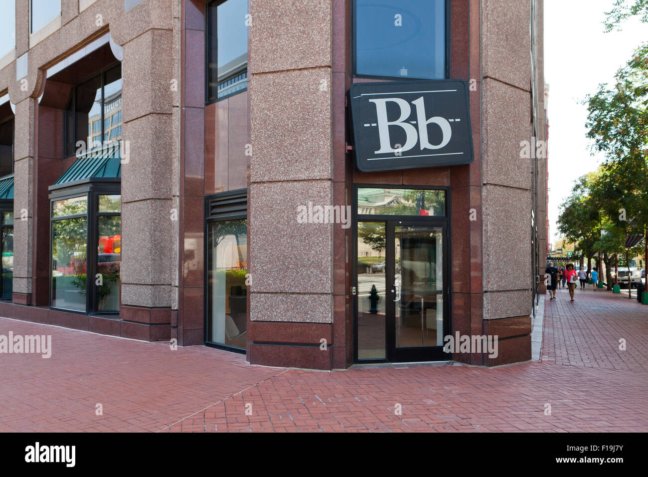 Blackboard Inc., educational technology company headquarters - Washington, DC USA - Stock Image