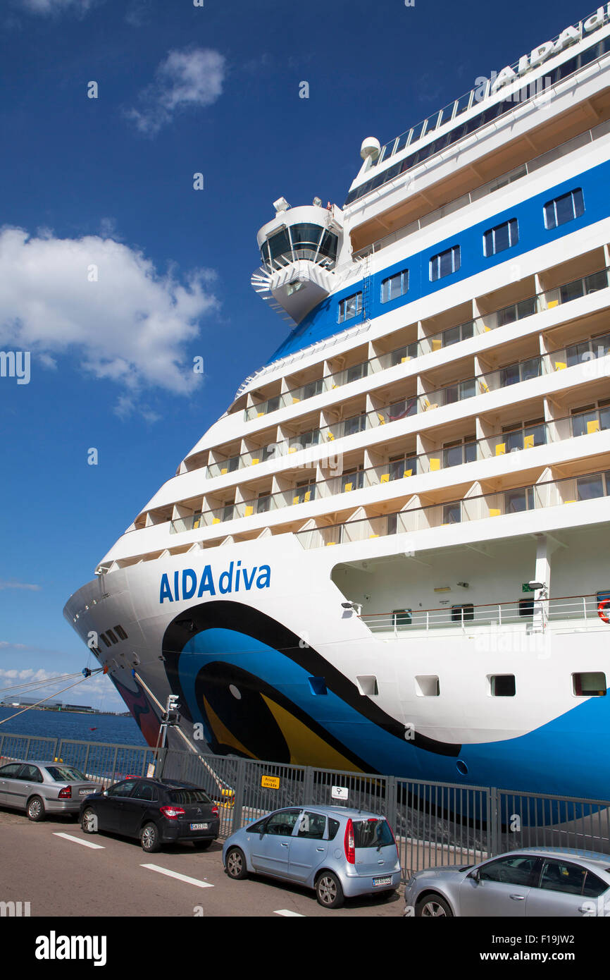 AIDA diva cruise ship operated by the German cruise line ...