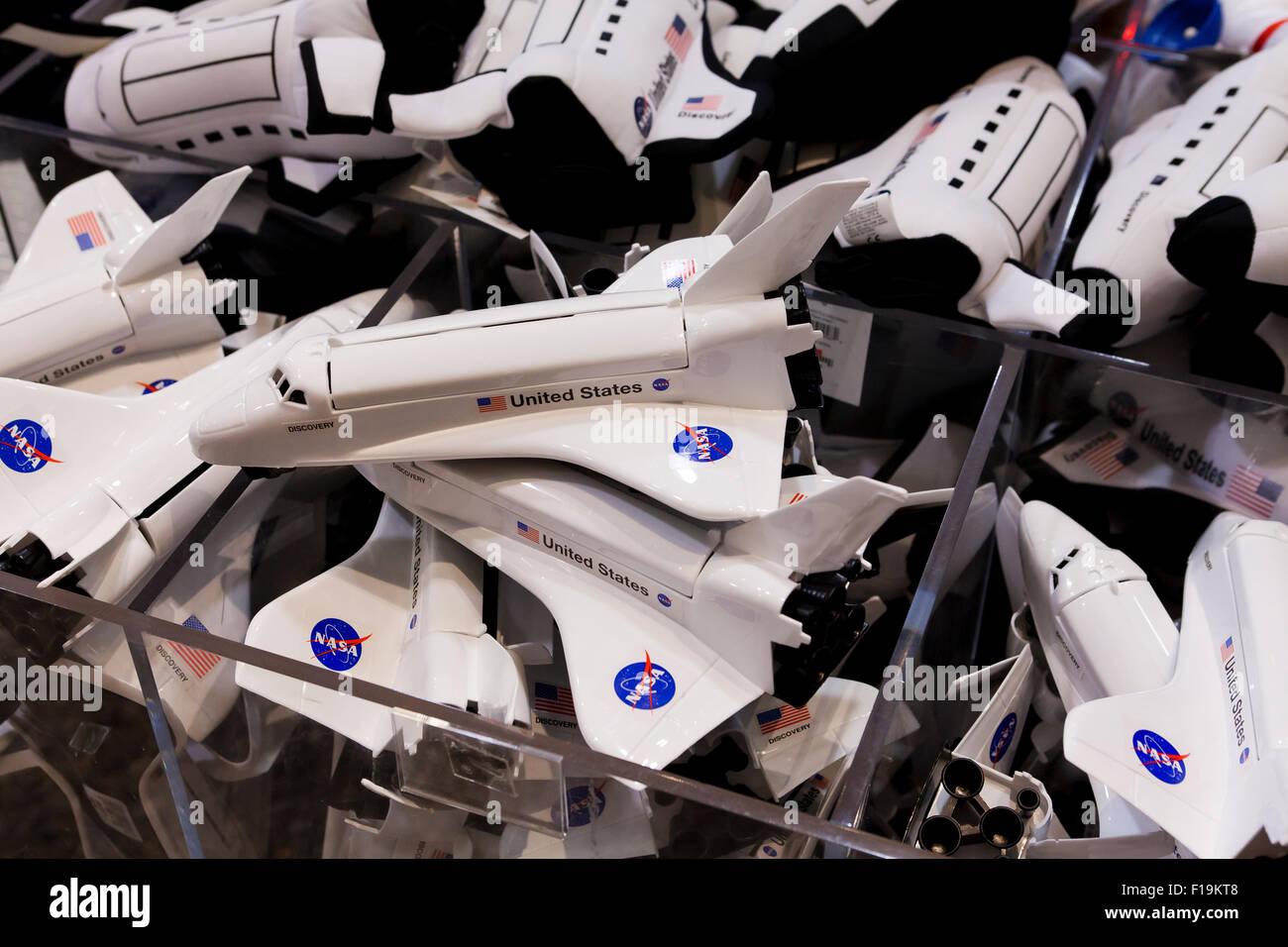 NASA Space Shuttle toys - USA - Stock Image
