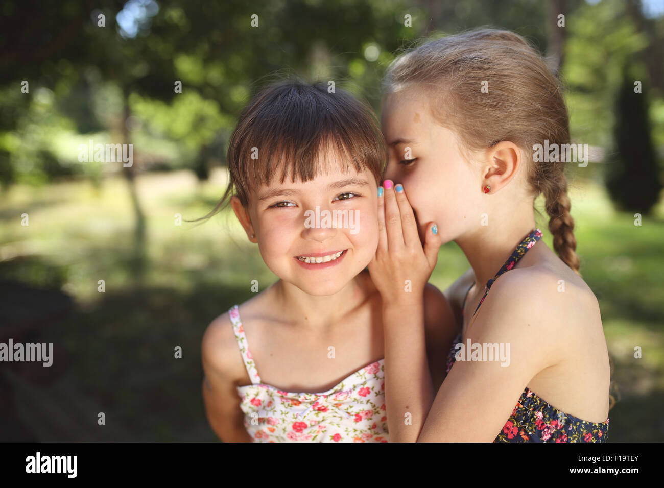little secrets - Stock Image