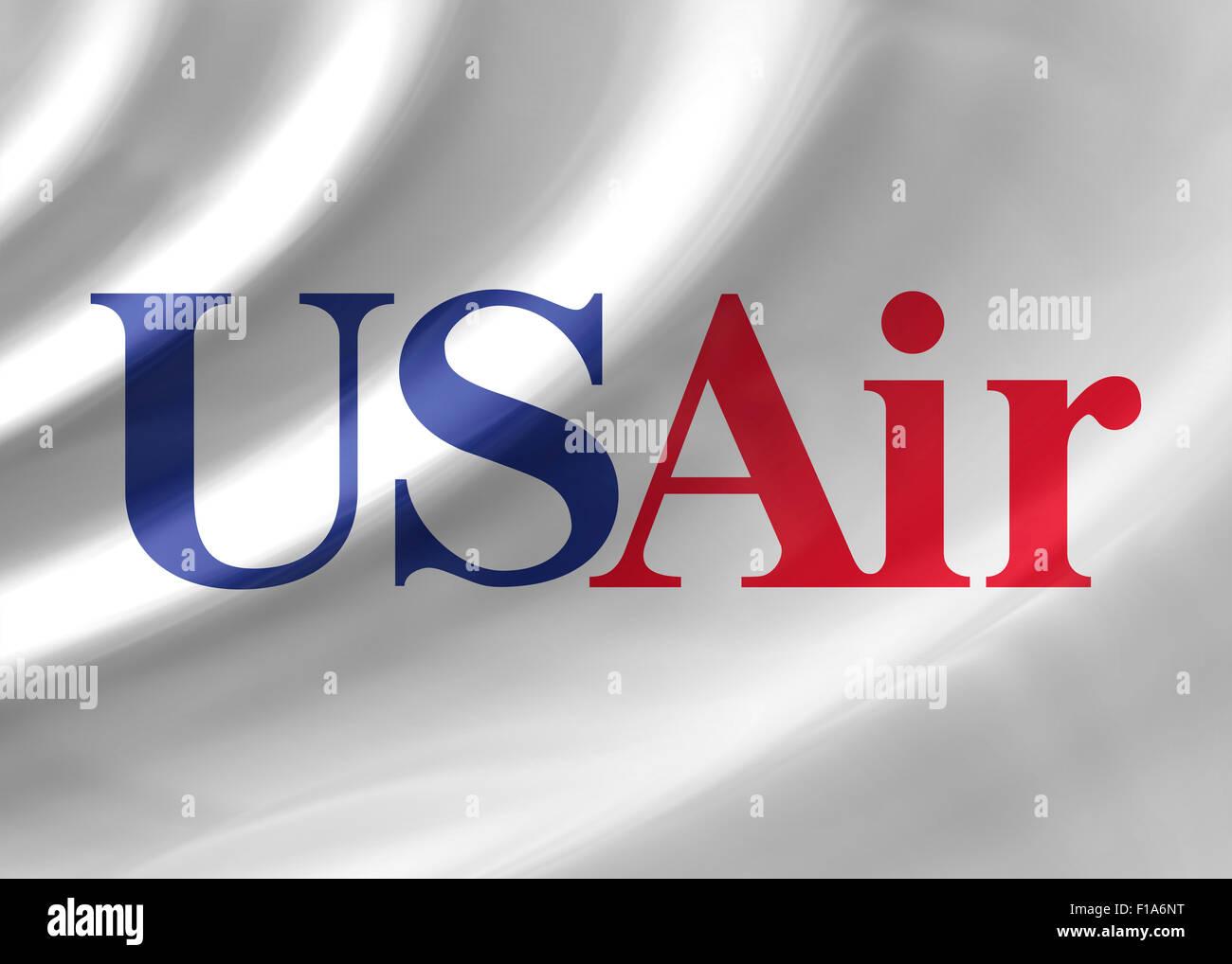 Us Air Logo Icon Flag Symbol Emblem Sign Stock Photo 86891332 Alamy