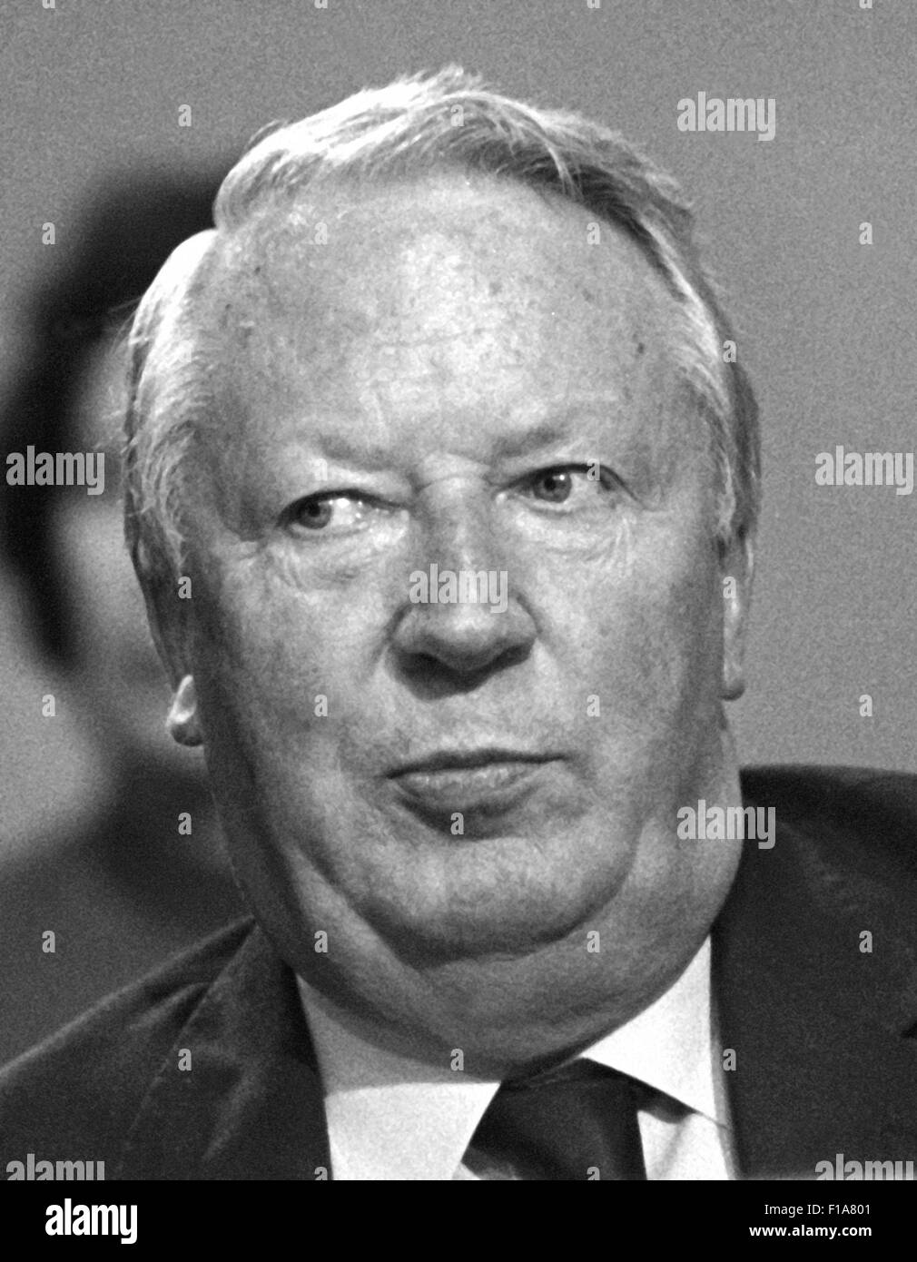 Edward Heath, Ted Heath, Sir Edward Heath Conservative Prime ...