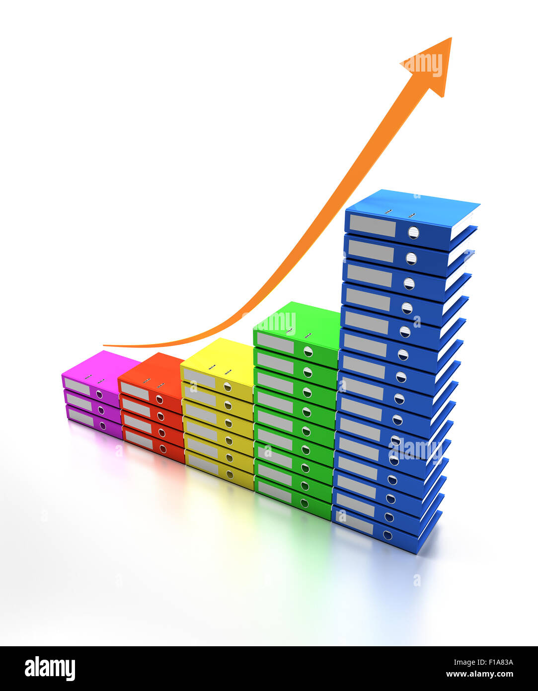 Increasing workload - Stock Image