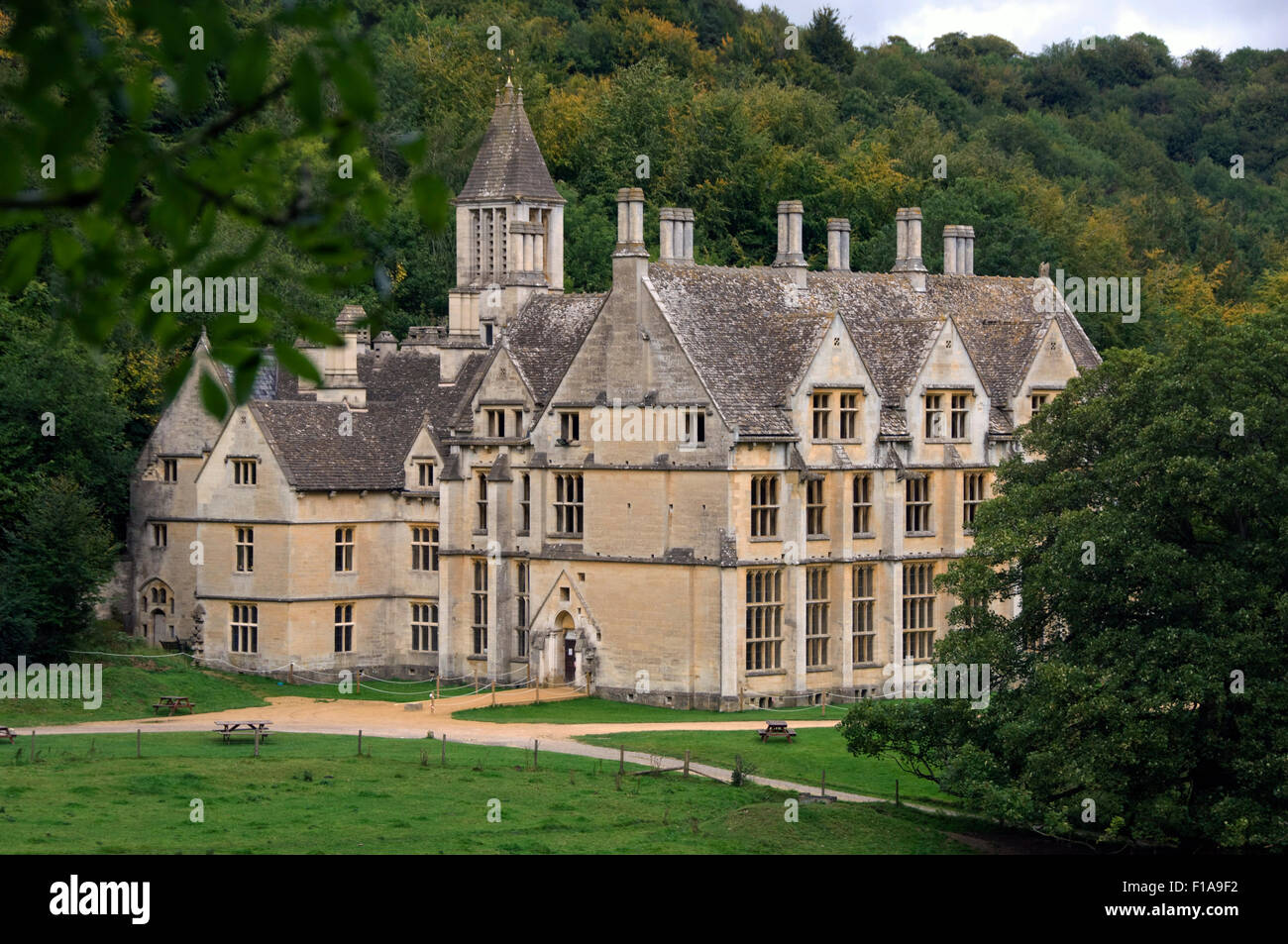 Woodchester MansionNymsfieldGloucestershireUKan Unfinished Victorian Gothic House