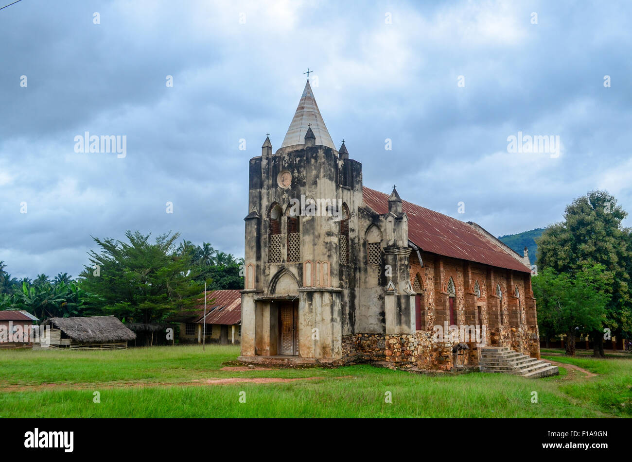Church in Kpalimé, Togo - Stock Image
