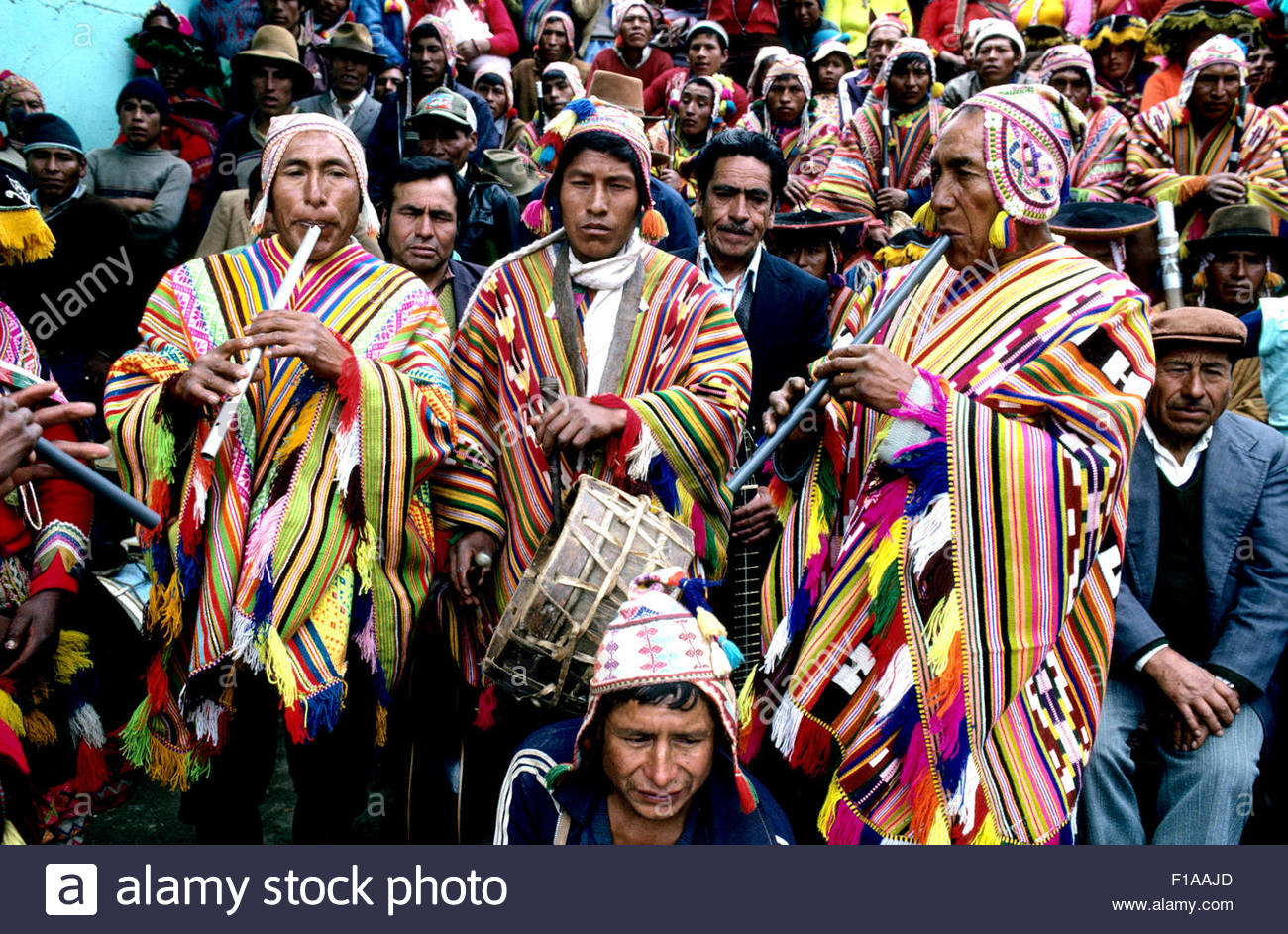 Peru, Cusco, traditional carnival in Ccatca Stock Photo: 86894373