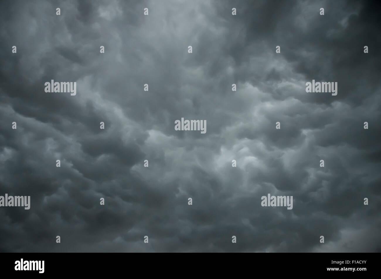 Dark Storm Clouds - Stock Image