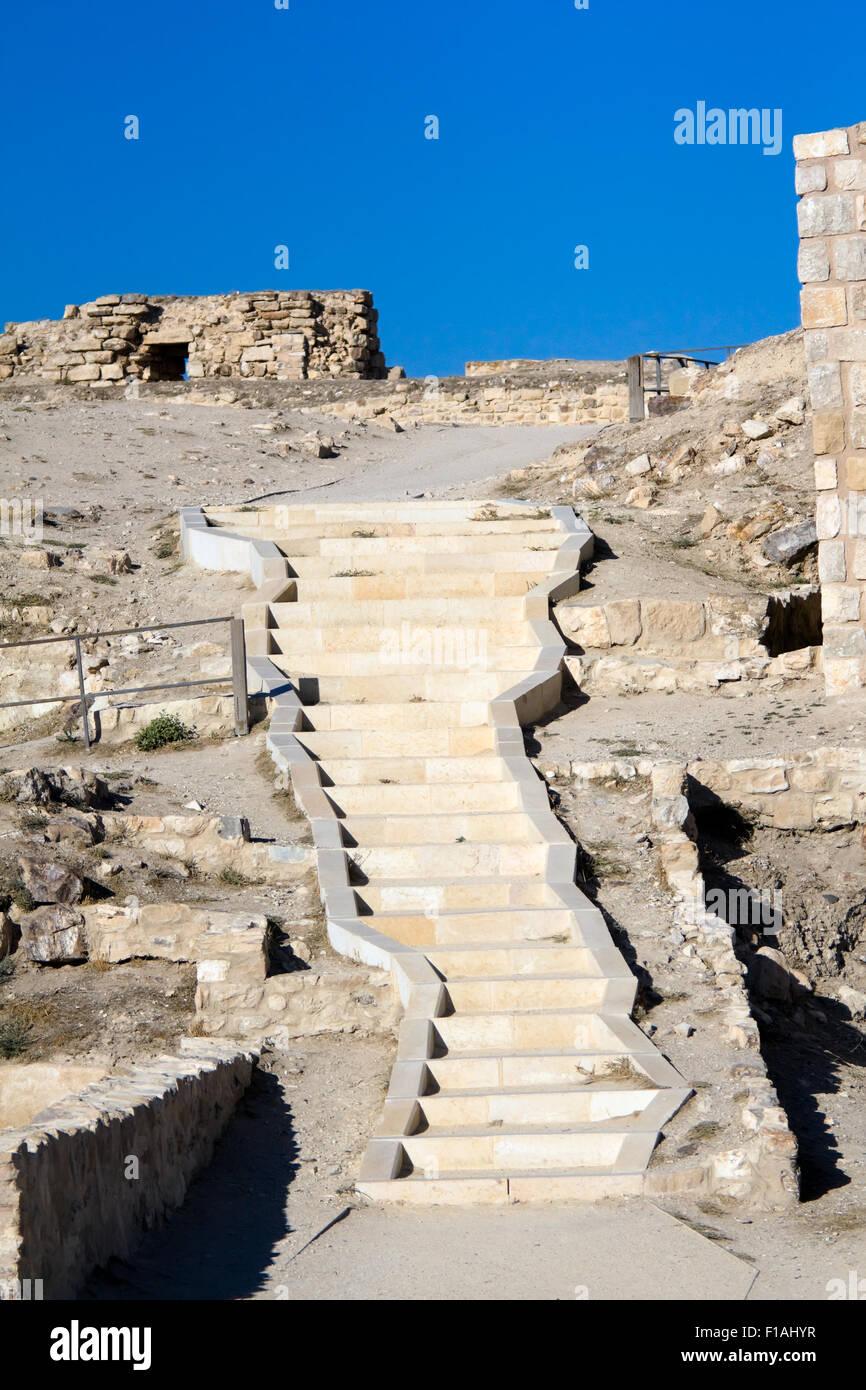 Castle Karak - Jordan Stock Photo