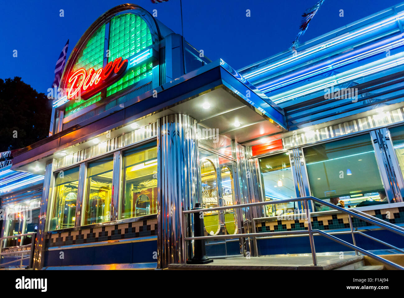 Diner Vintage High Resolution Stock Photography And Images Alamy