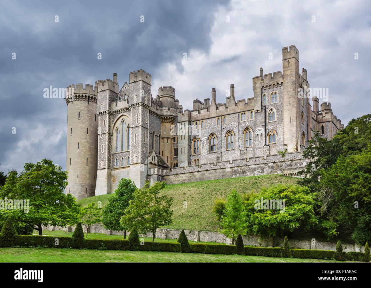 Arundel Castle, Arundel, West Sussex, England, UK - Stock Image