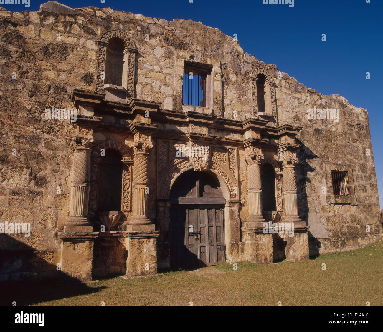 Alamo Village Stock Photo