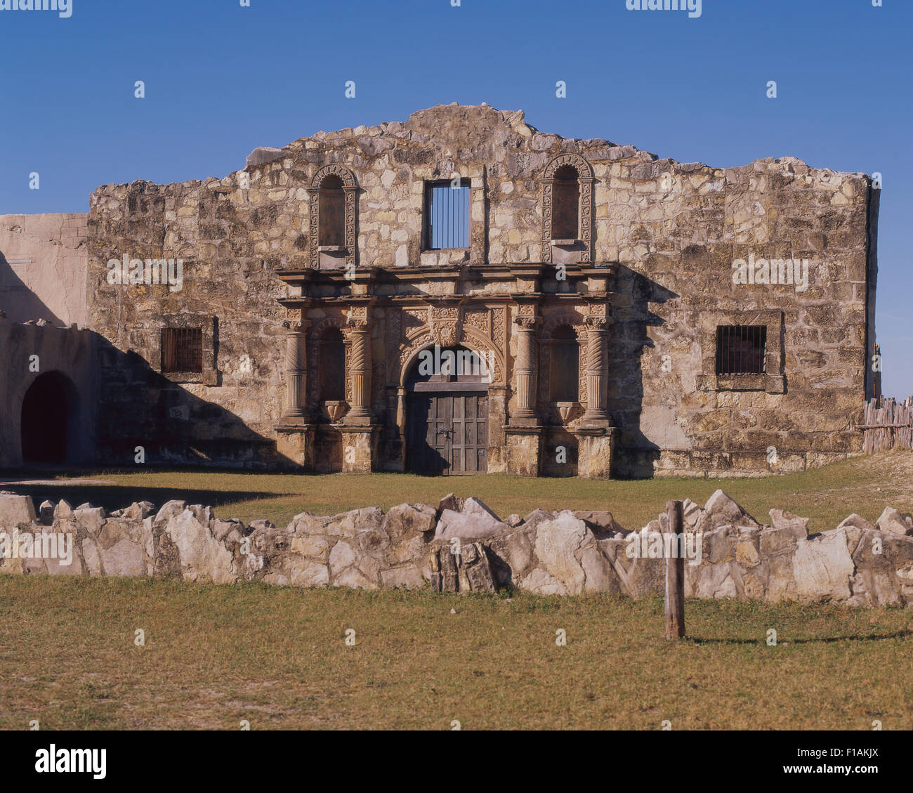 Alamo Village - Stock Image
