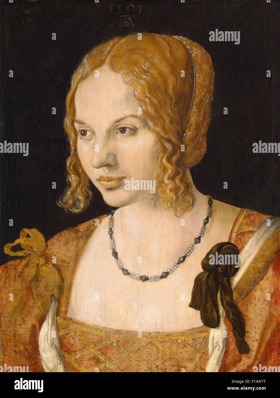Albrecht Dürer - Portrait of a Young Venetian Woman - Stock Image
