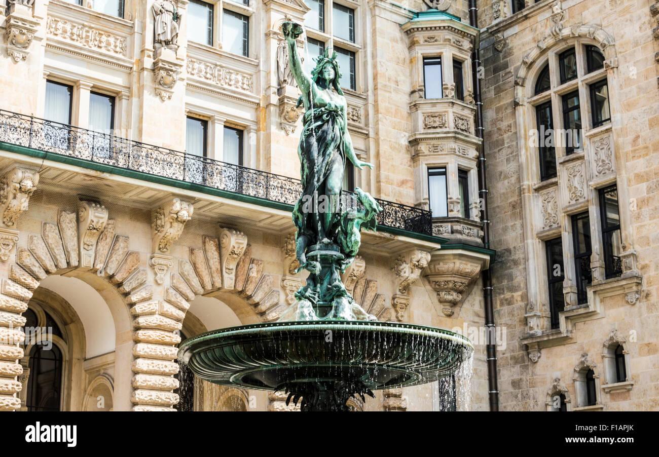 Brunnen Hamburg.Hygieia Brunnen Hamburg Stock Photo 86903787 Alamy