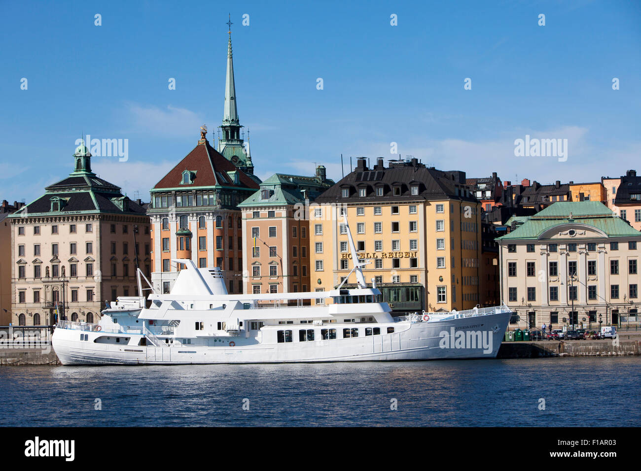 Stockholm the capital city of Sweden and most populous city in the Nordic region - Stock Image