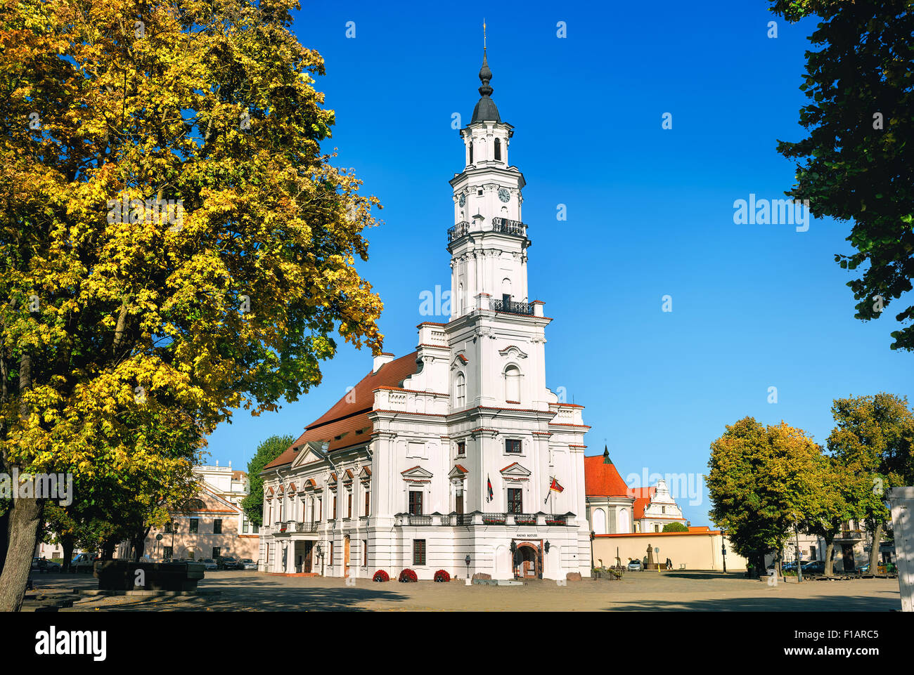 Kaunas City Hall, Lithuania - Stock Image