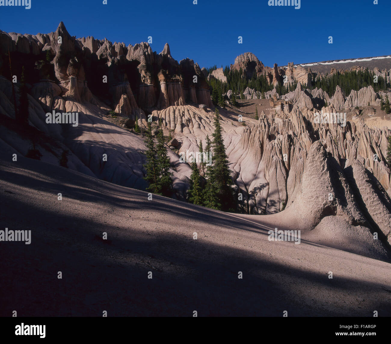 Creede Colorado Stock Photo