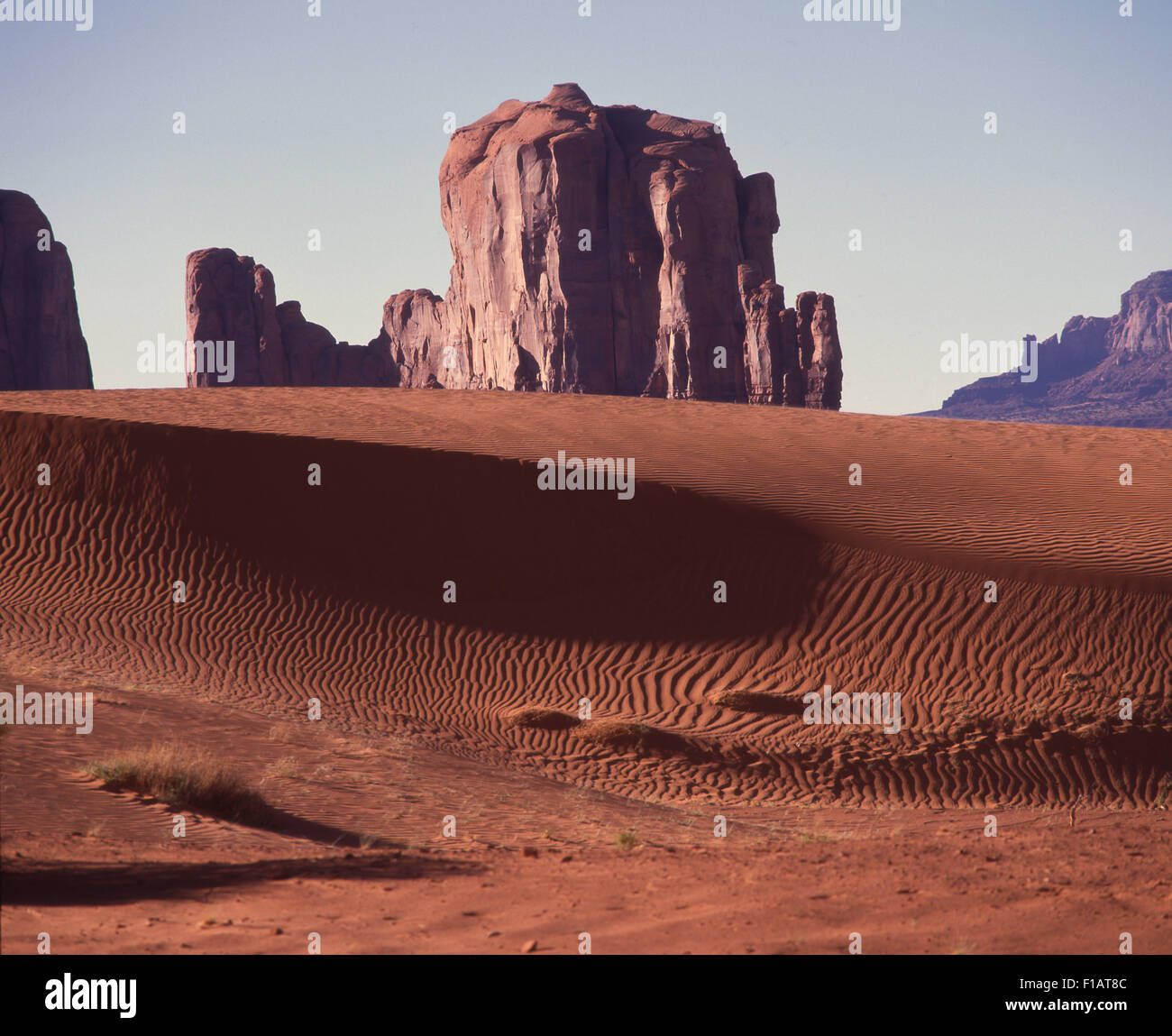 Monument Valley Navajo Tribal Park - Stock Image