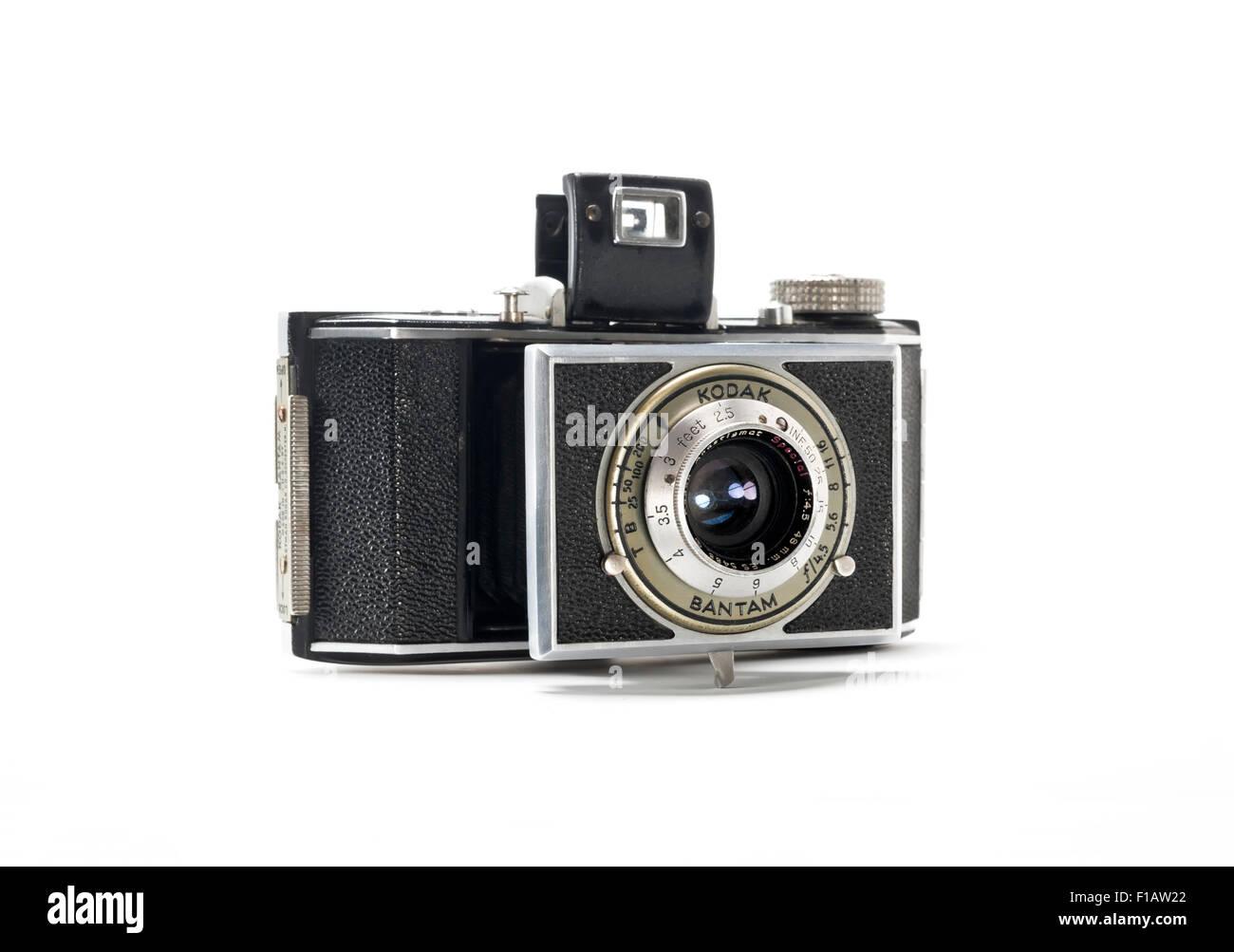Vintage Kodak Bantam Camera from the 1930's - Stock Image