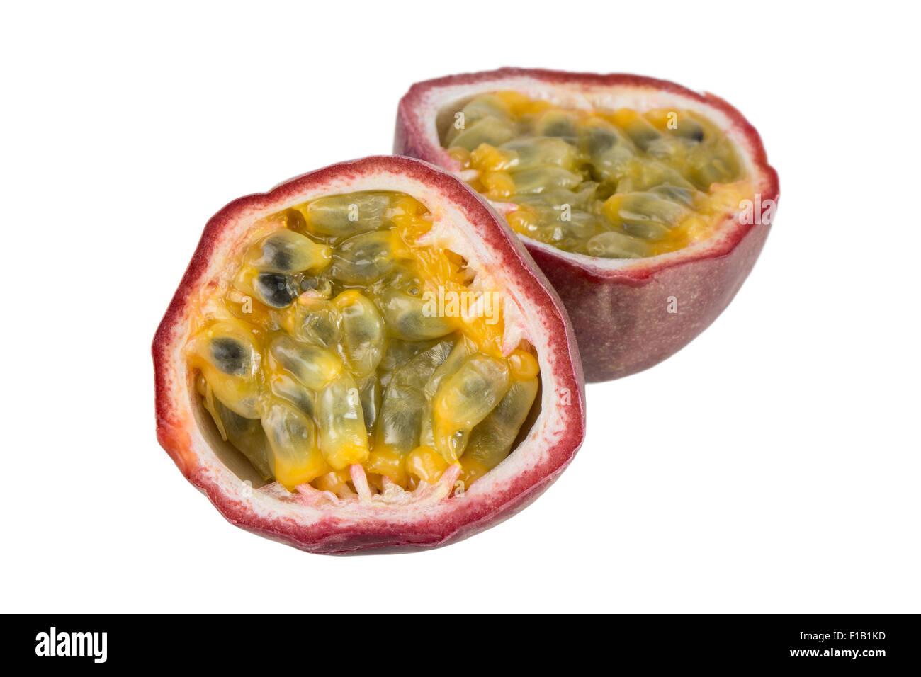 how to eat granadilla passion fruit