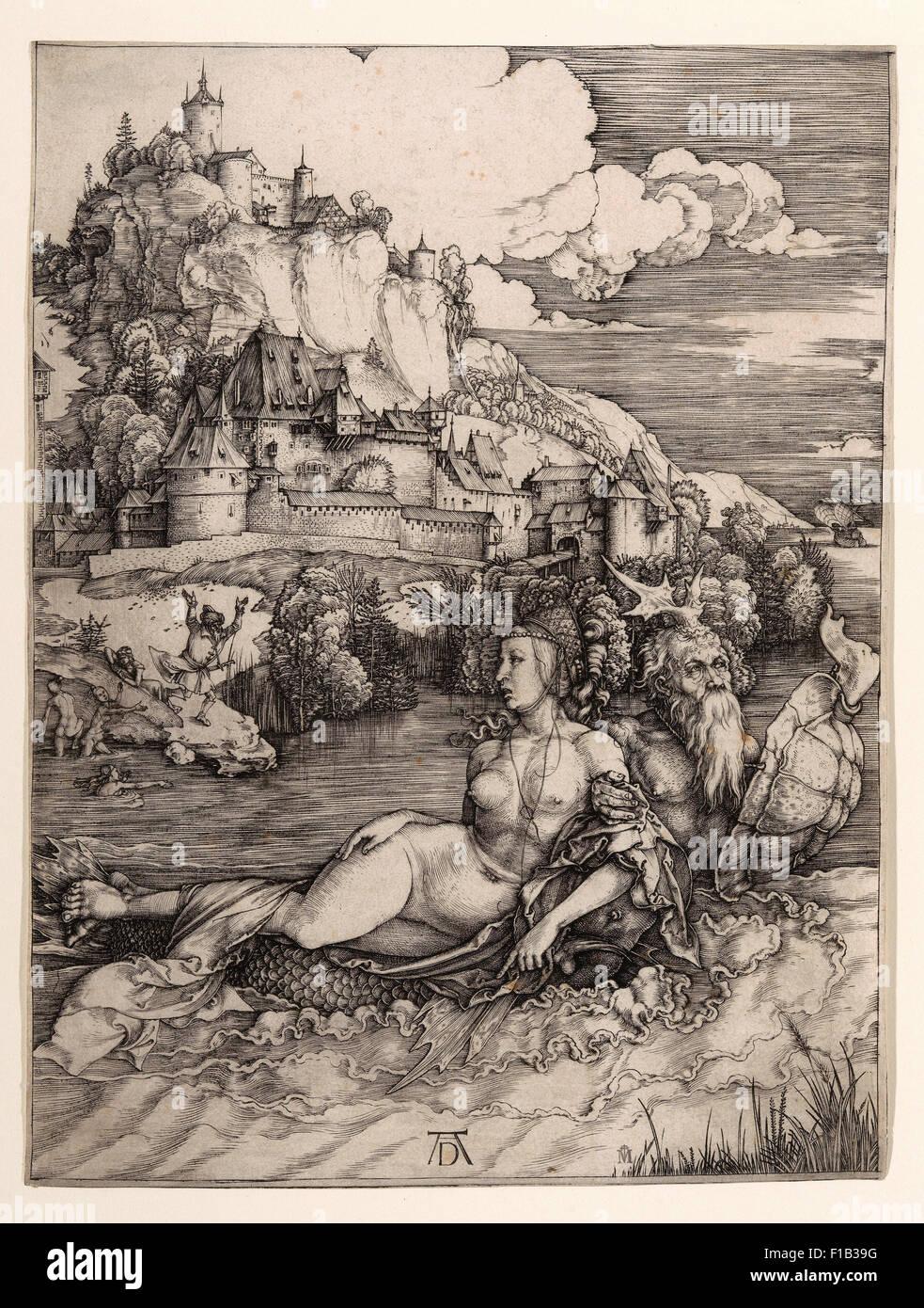 Albrecht Dürer - The Sea Monster (Das Meerwunder) - Stock Image