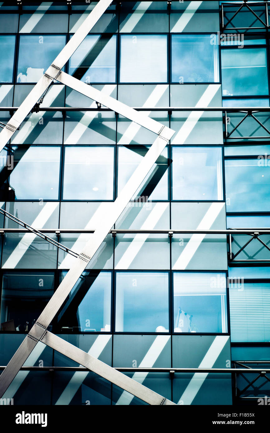 abstract modern architecture - Stock Image