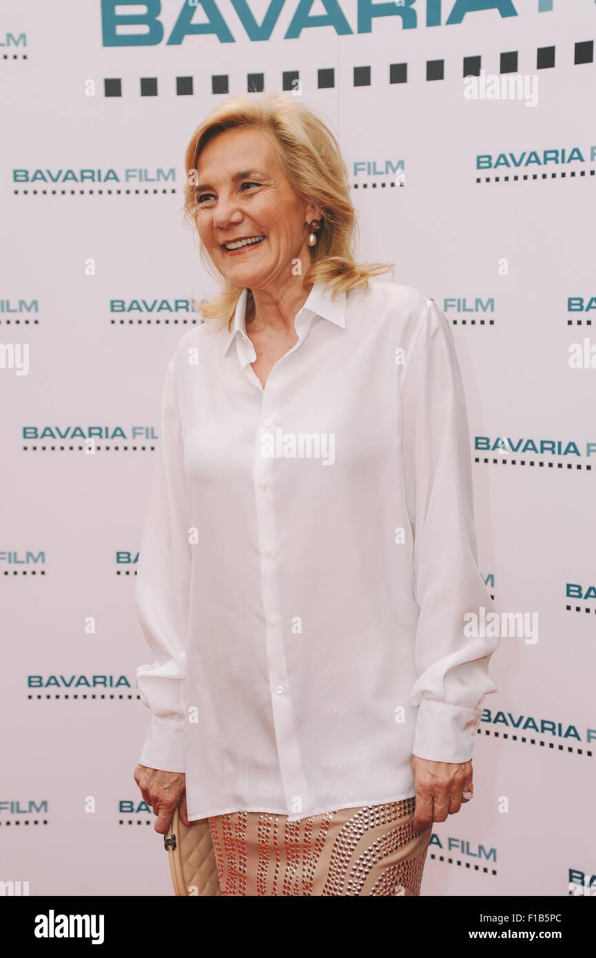Filmfest Muenchen 2015 - Bavaria Film Empfang 2015 at Kuenstlerhaus am Lenbachplatz  Featuring: Susanne Porsche Stock Photo