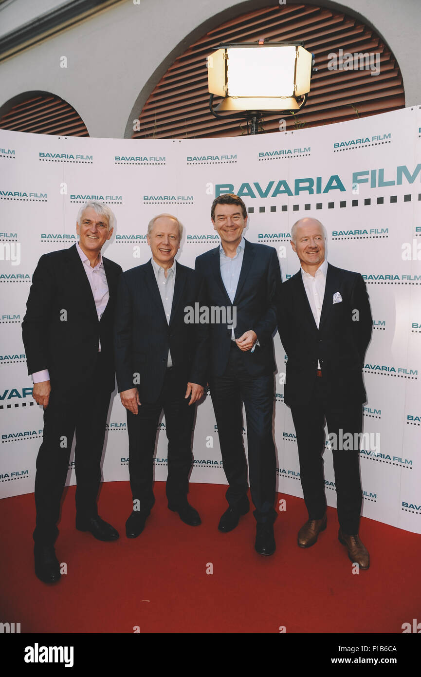 Filmfest Muenchen 2015 - Bavaria Film Empfang 2015 at Kuenstlerhaus am Lenbachplatz  Featuring: Guest, Tom Buhrow, - Stock Image