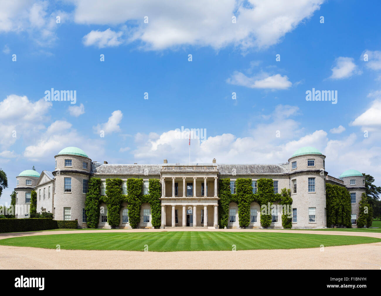 Goodwood House, West Sussex, England, UK - Stock Image