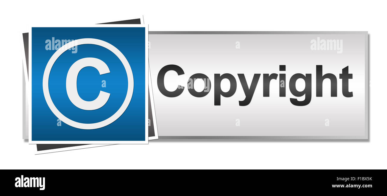 Copyright Blue Grey Stock Photo