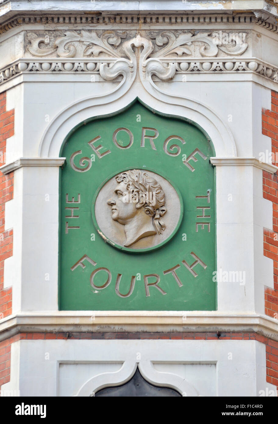 London, England, UK. George IV pub on the corner of Portugal Street and Portsmouth Street WC2 - Stock Image