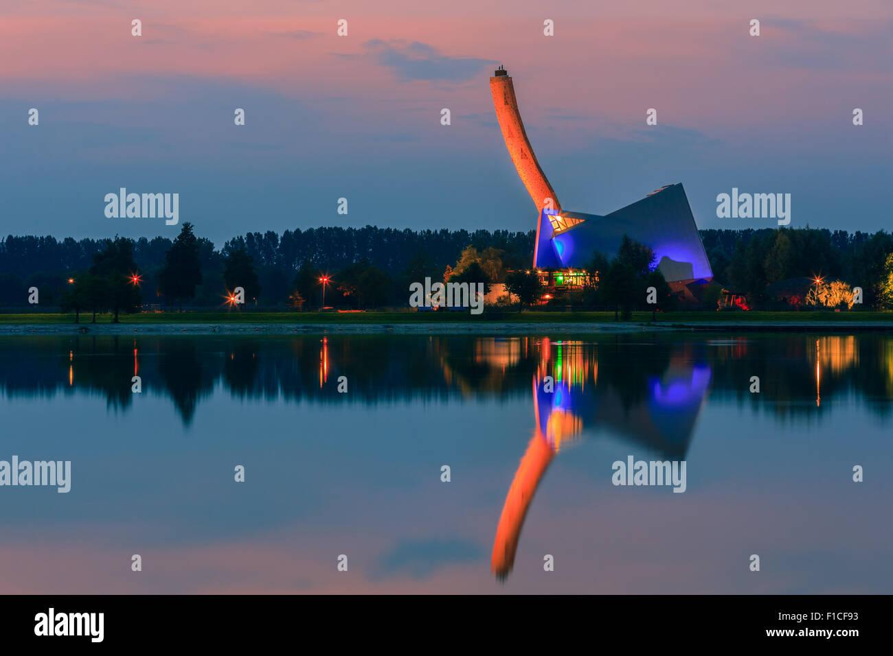 Climbing Center Bjoeks is located at sportpark Kardinge in The Netherlands. - Stock Image
