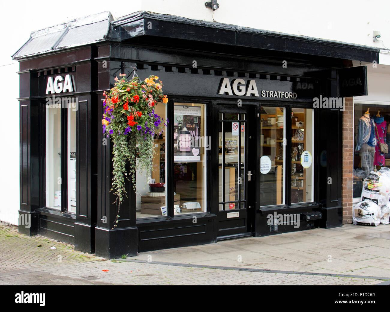 Aga shop, Stratford-upon-Avon, UK - Stock Image