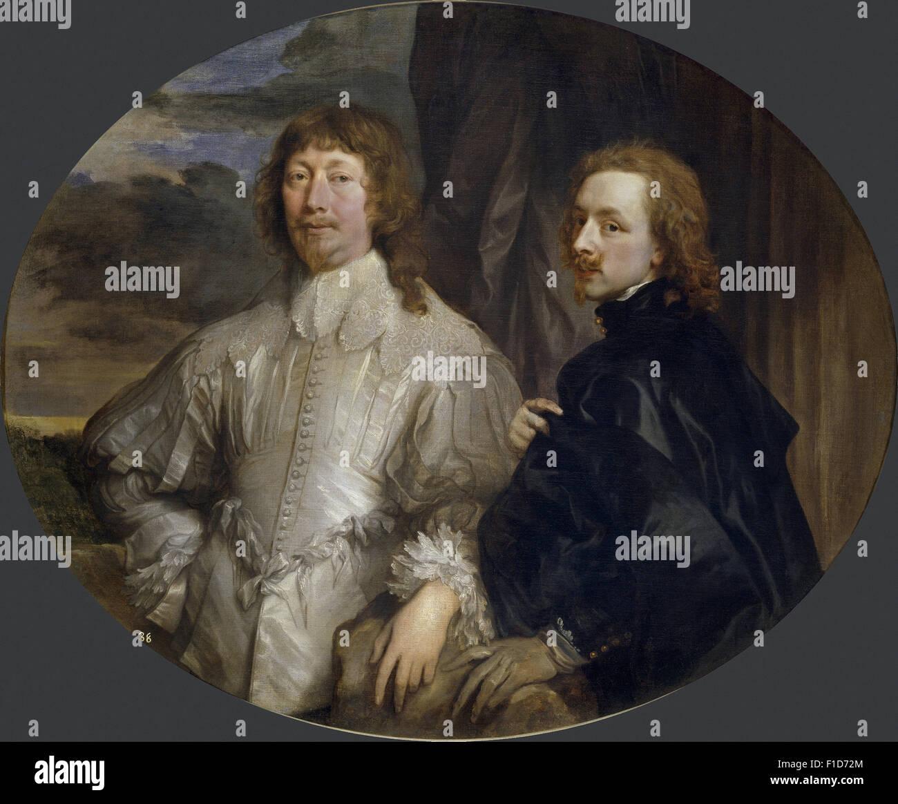 Anthony Van Dyck - Sir Endymion Porter and Anton van Dyck - Stock Image