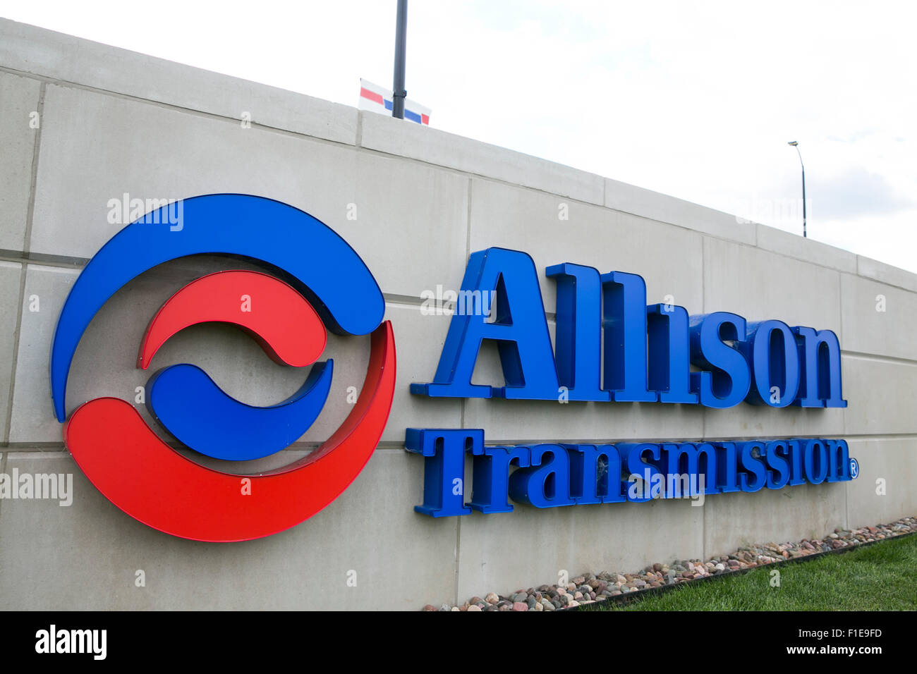 A Logo Sign Outside Of The Headquarters Of Allison Transmission In Stock Photo Alamy