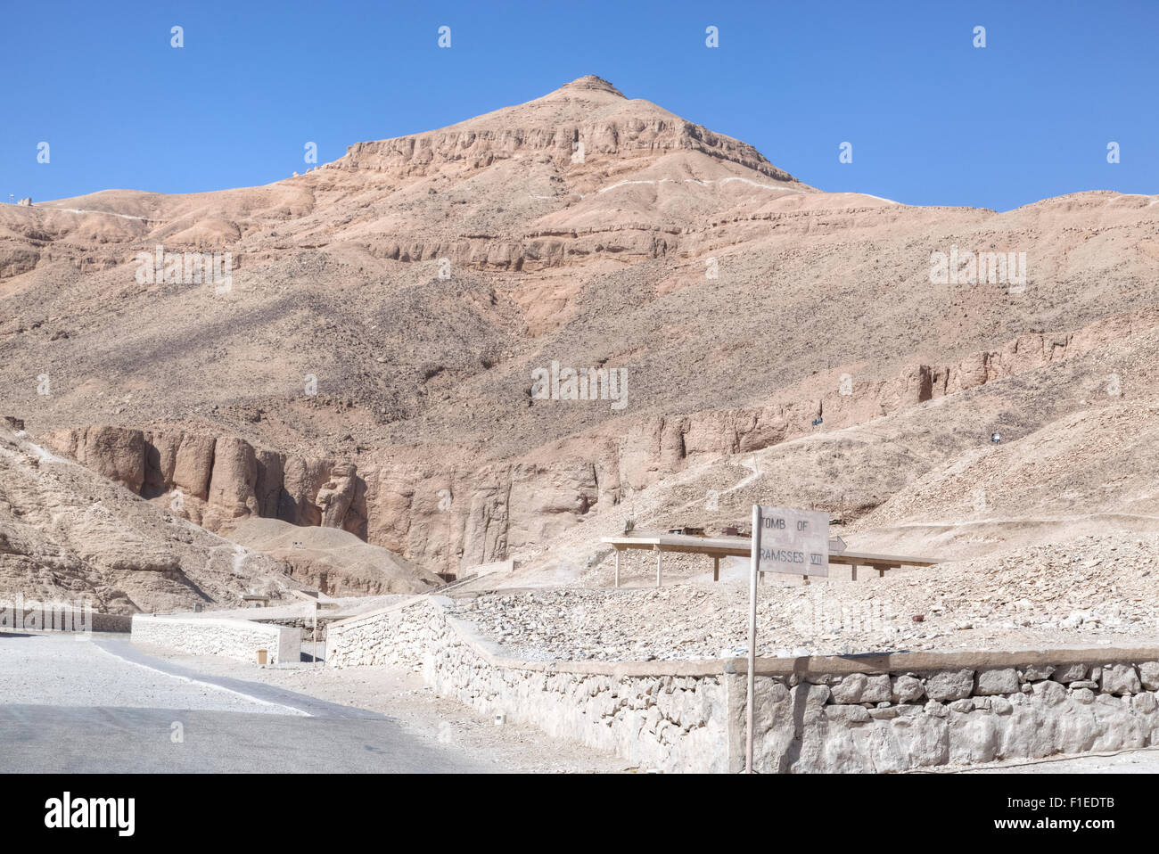 Valley of the Kings, Luxor, Egypt, Africa - Stock Image