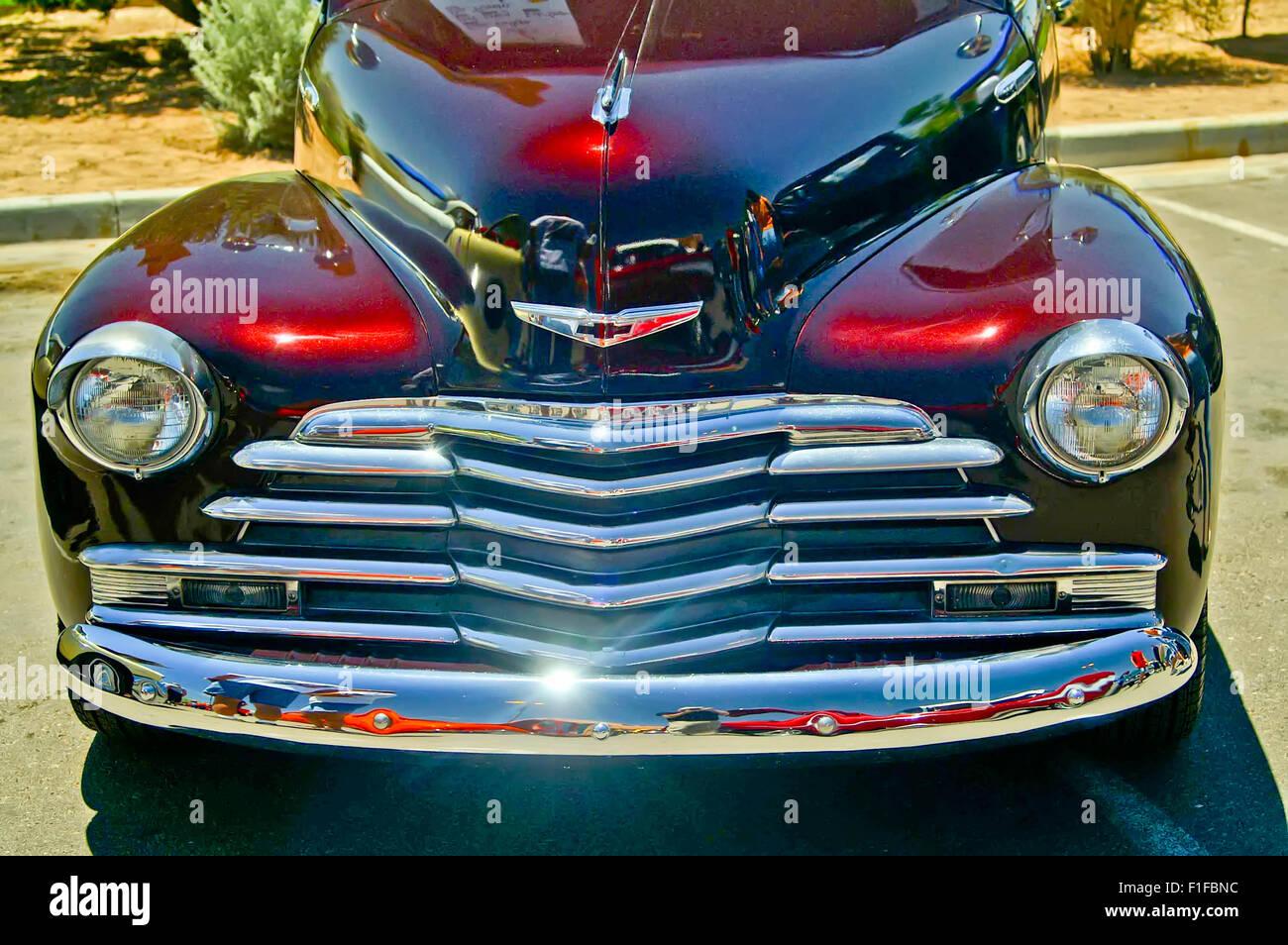 Restored Chevy At A Car Show In Albuquerque NM June - Car show albuquerque