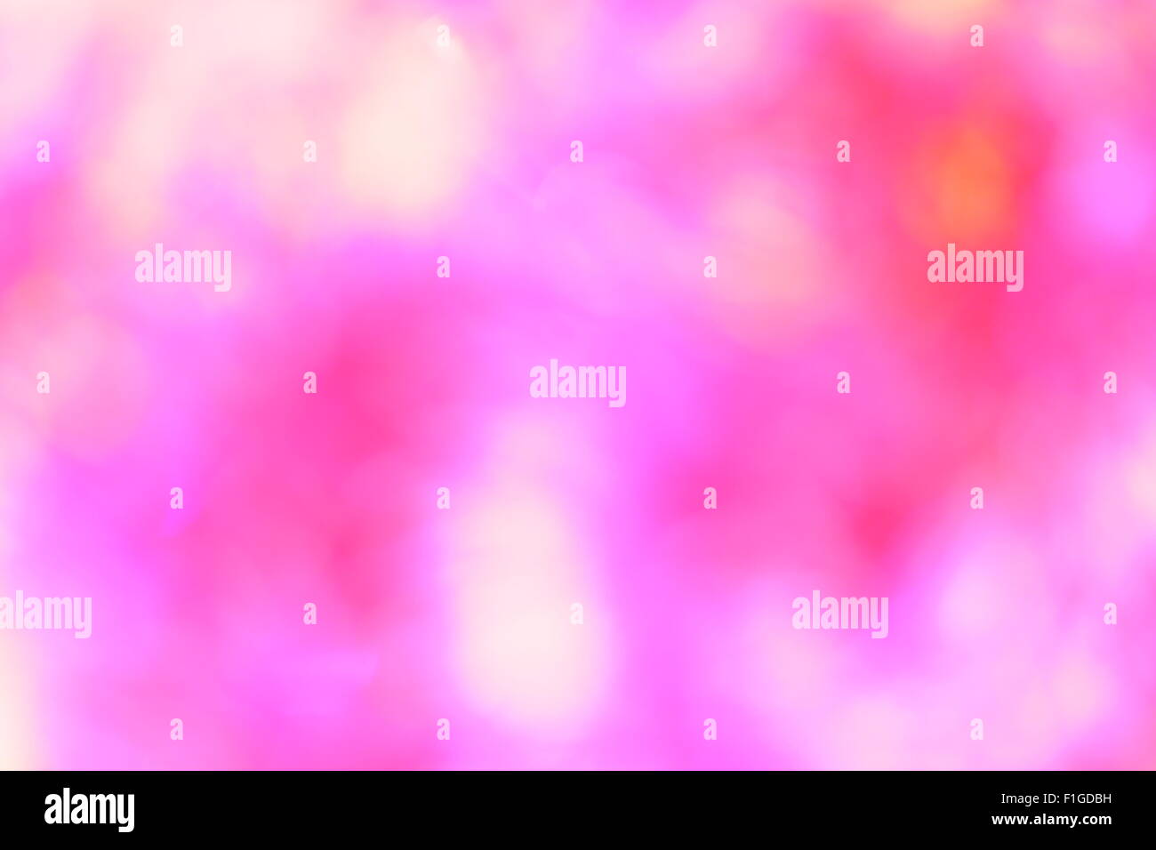 Abstract christmas light as background - Stock Image