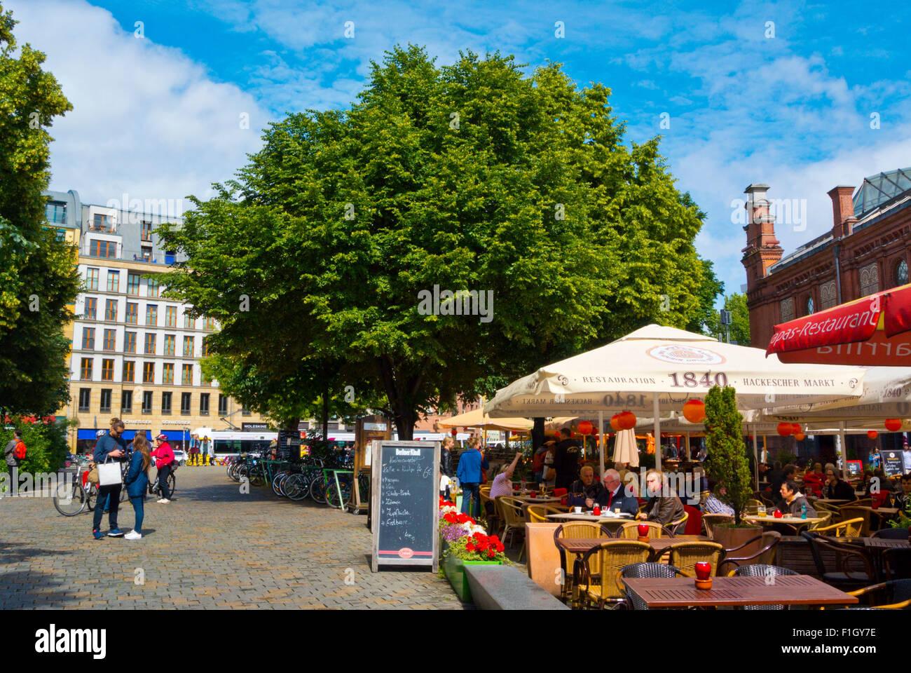 Neue Promenade, Hackescher Markt, Mitte, Berlin, Germany - Stock Image
