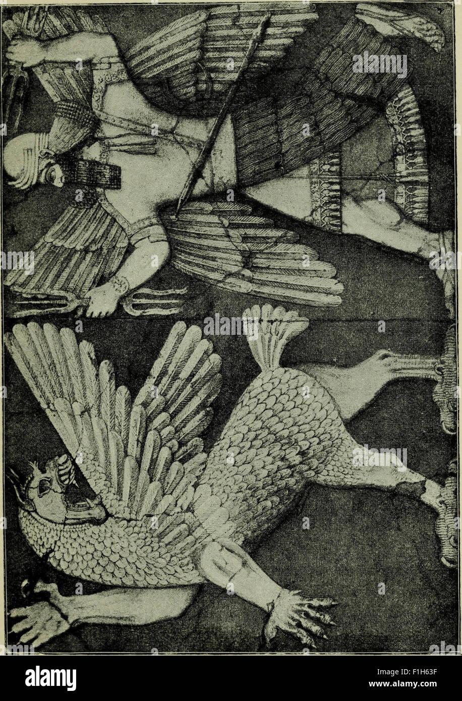Babylonian religion and mythology (1899 Stock Photo