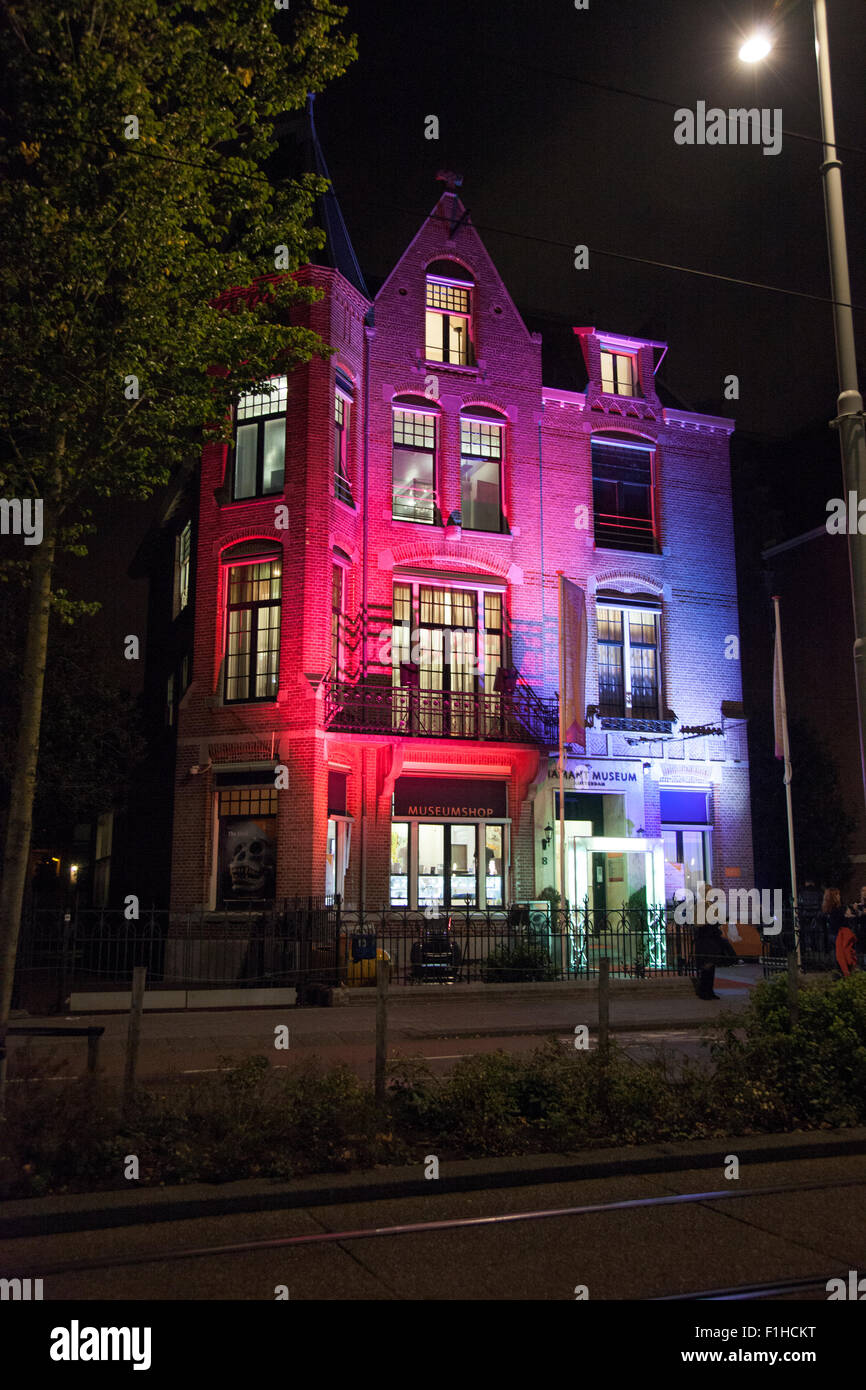 2nd November 2014 Diamond Museum on Museum Nacht 2014 in Amsterdam, Netherlands - Stock Image