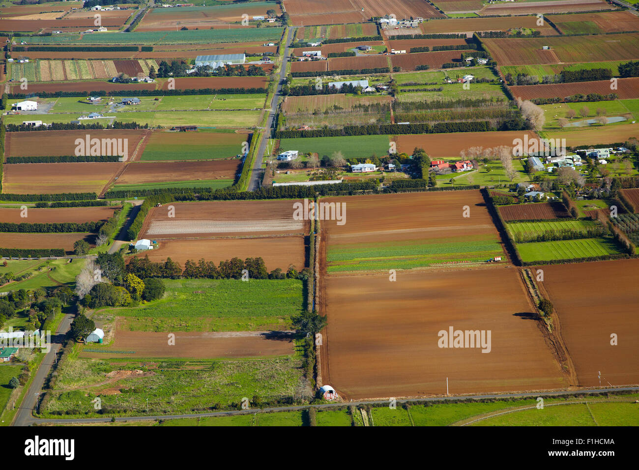 Vegetable Garden Aerial Stock Photos & Vegetable Garden Aerial Stock ...