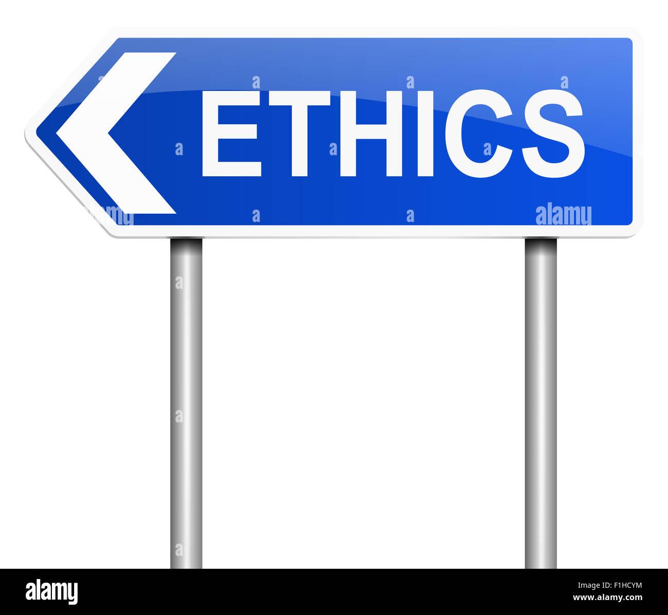 Ethics concept. - Stock Image