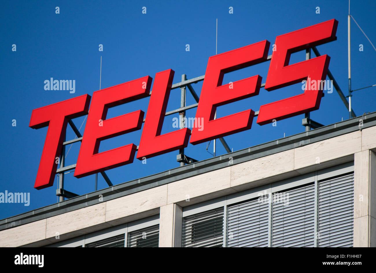 Markennamen: 'Tele5', Berlin. - Stock Image