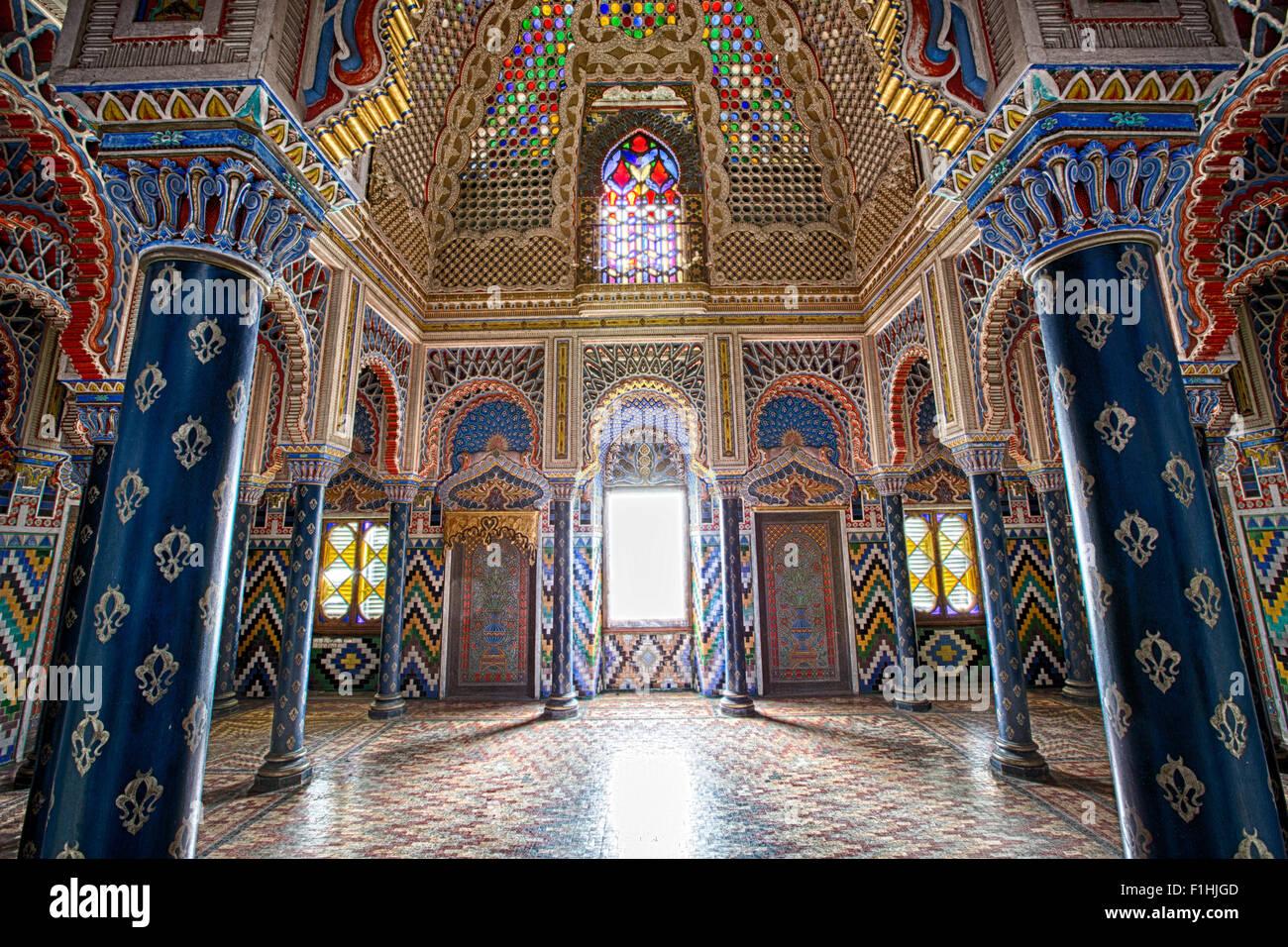 Moorish Style Palace Interior Arabian Fairy Tale Architecture Details