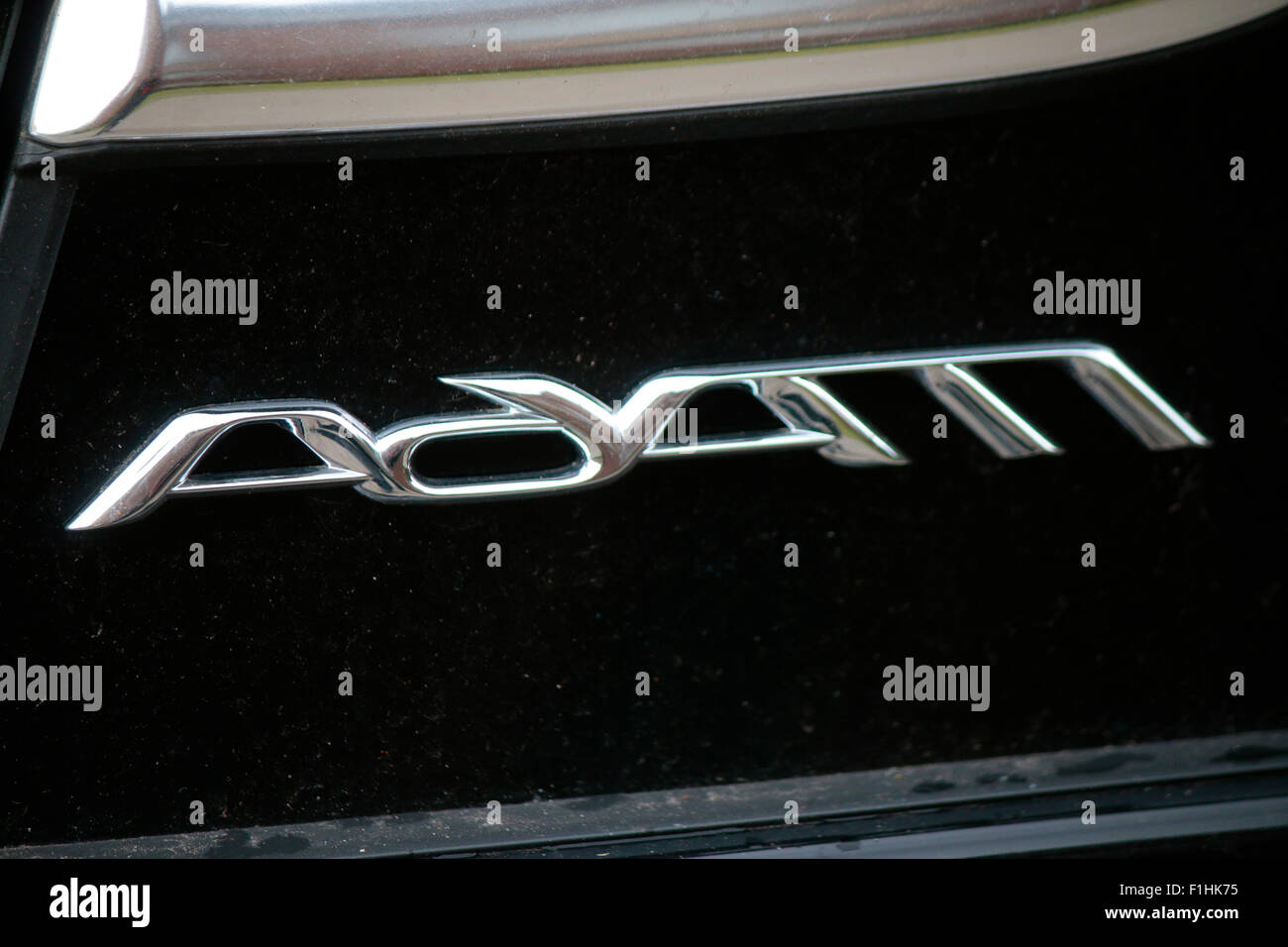 Markennamen: 'Opel Adam', Berlin. - Stock Image